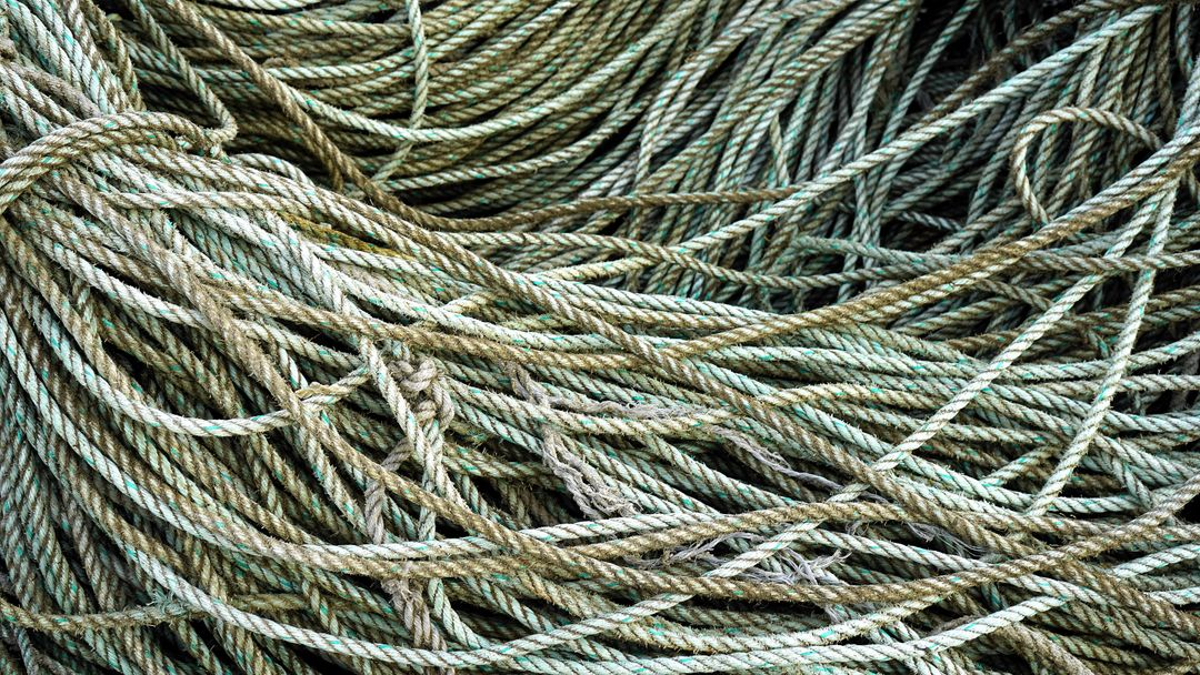 Cable cord cordage knot