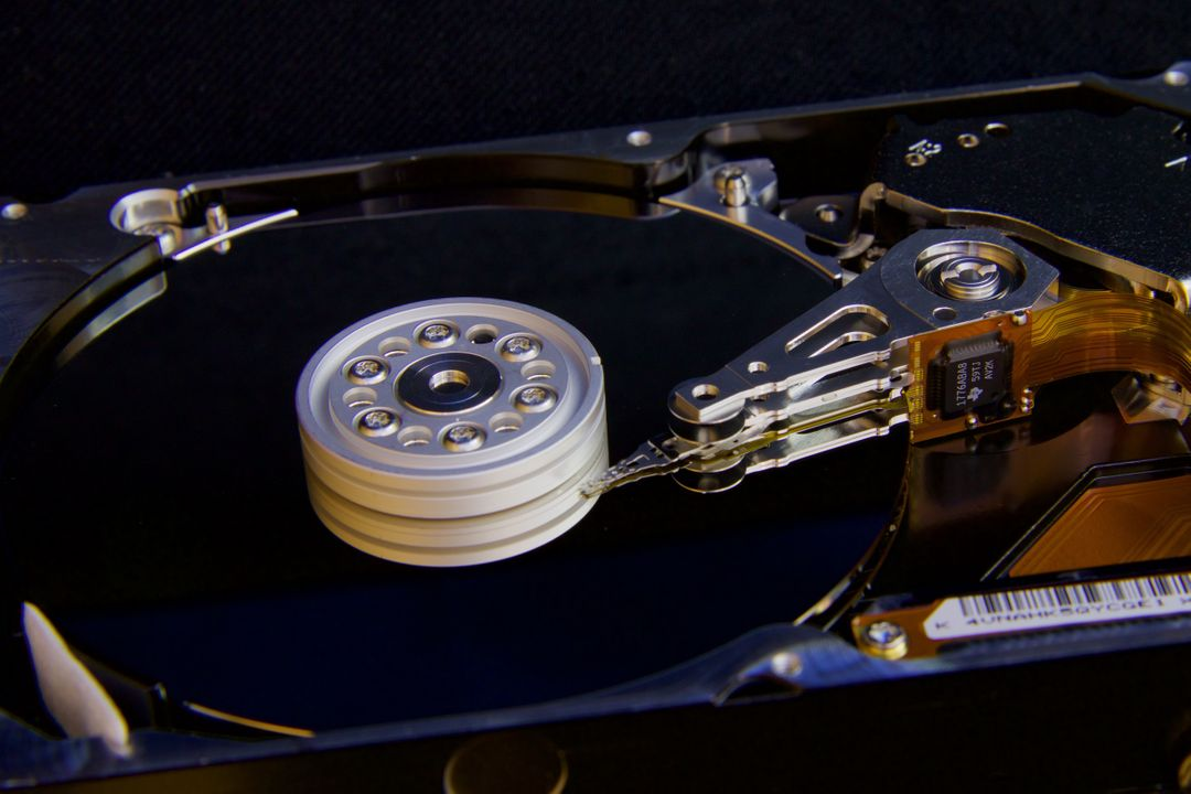 Disc hard drive it pc
