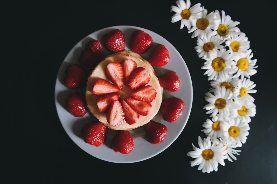 How To Start A Food Blog - fruit strawberry flowers