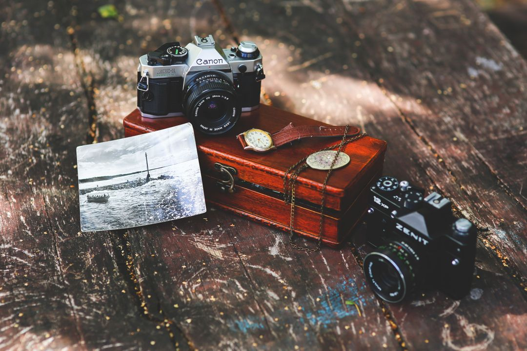 Vintage Camera Collection Free Photo Free Stock Images from PikWizard