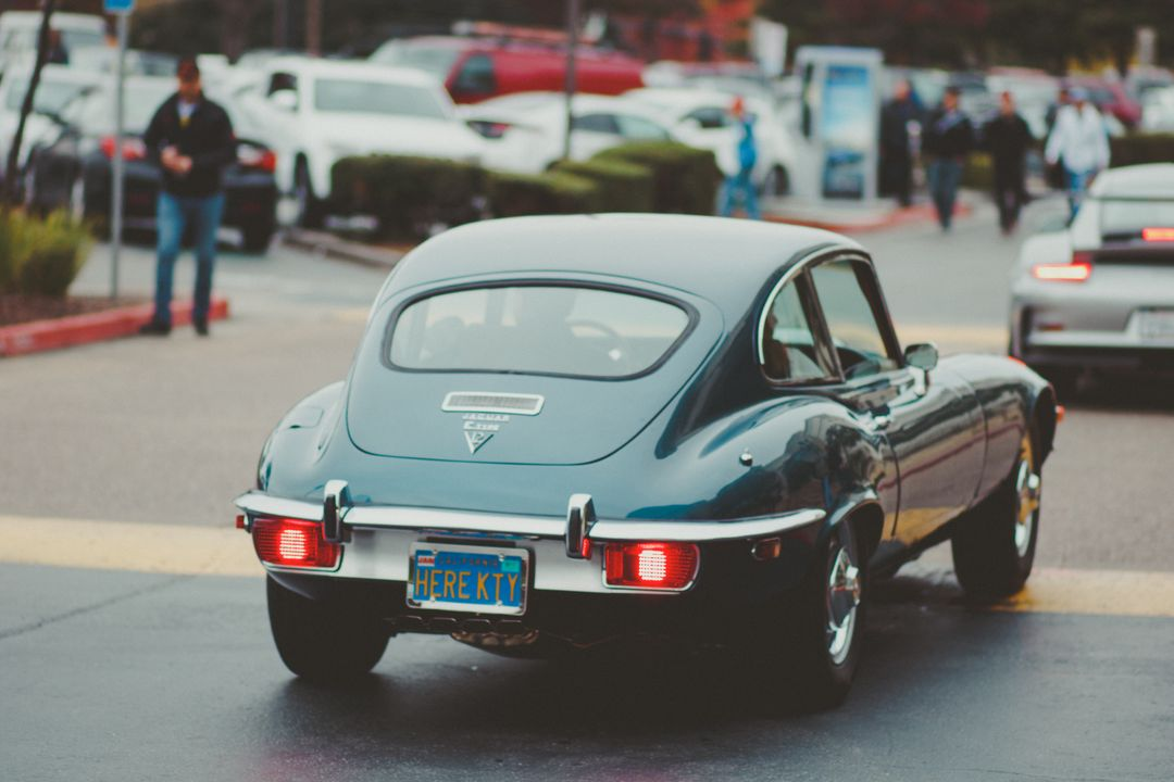 Classic Jaguar E-type Free Photo