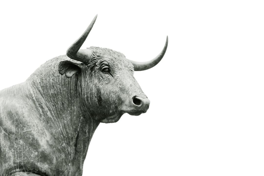 Bull Sculpture Bullish Free Stock Images from PikWizard
