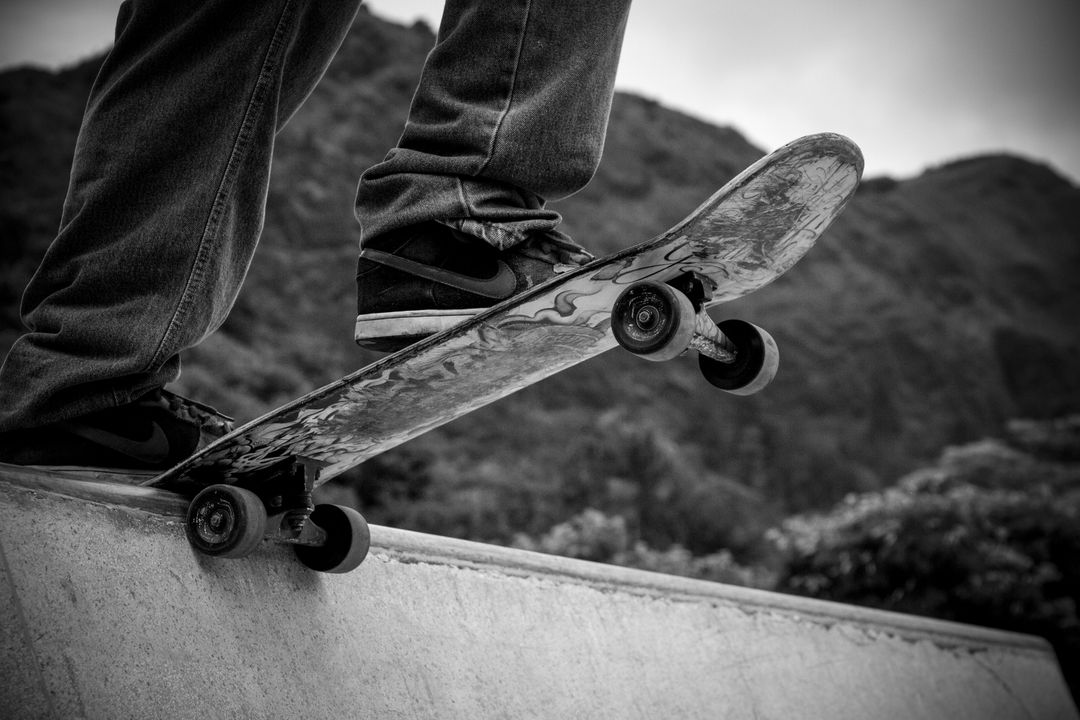 Skateboard Ramp Sneakers Free Photo