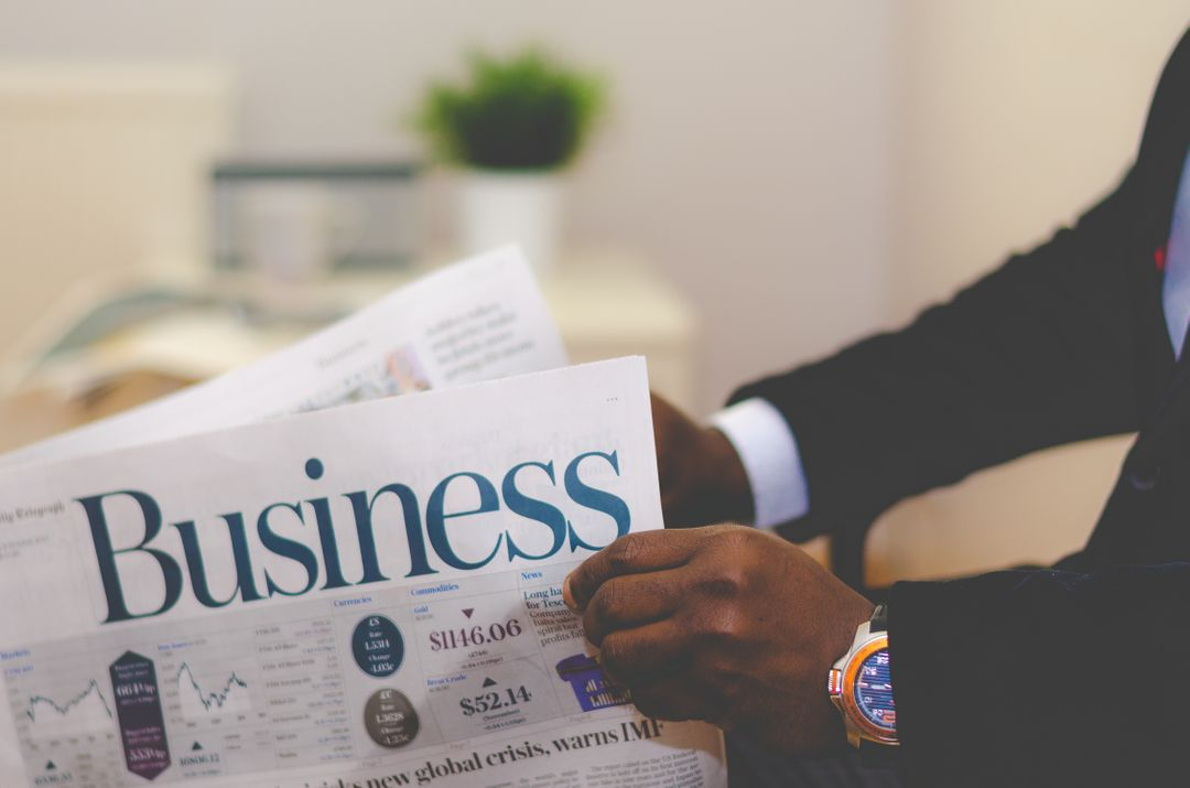Business newspaper reading Free Stock Images from PikWizard