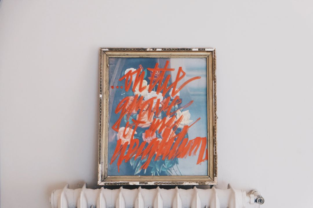 Image of a Painting on a Wall