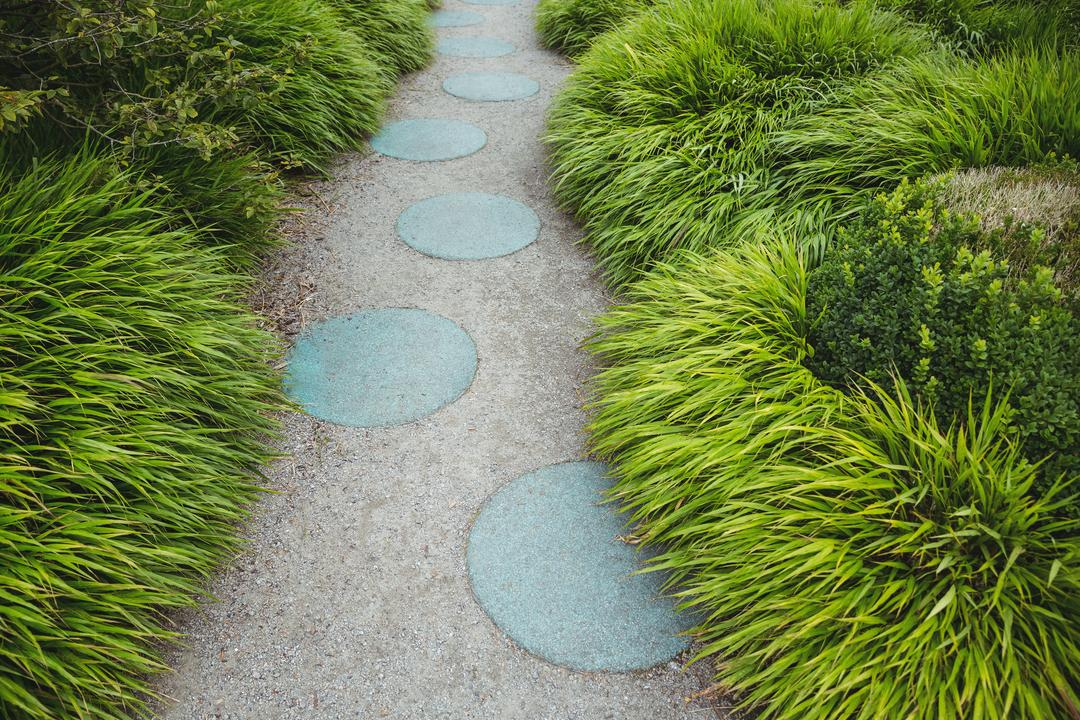 Stepping stone garden path, backgrounds