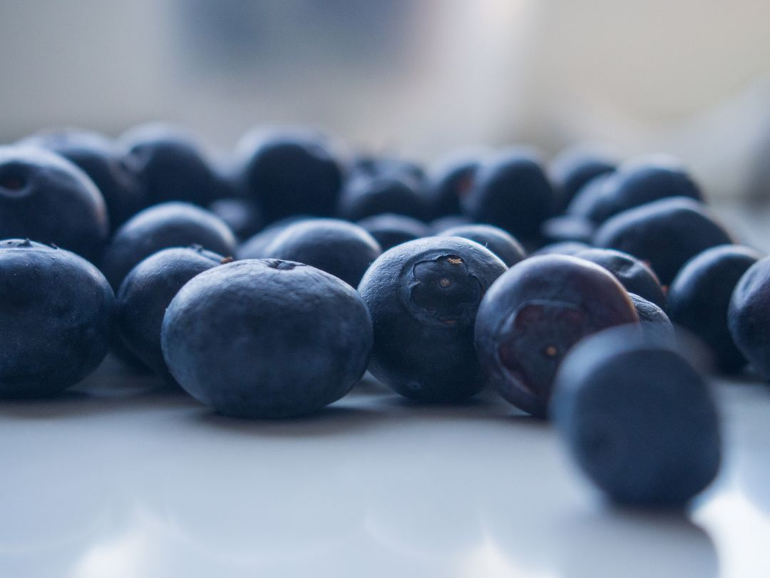 Blueberries fruits healthy