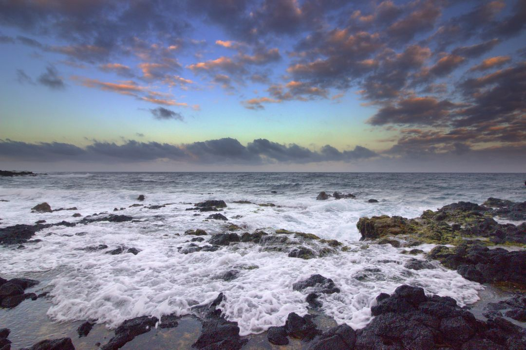 Beach hawaii landscapes ocean
