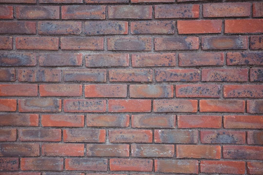 Modern brick wall background, full frame
