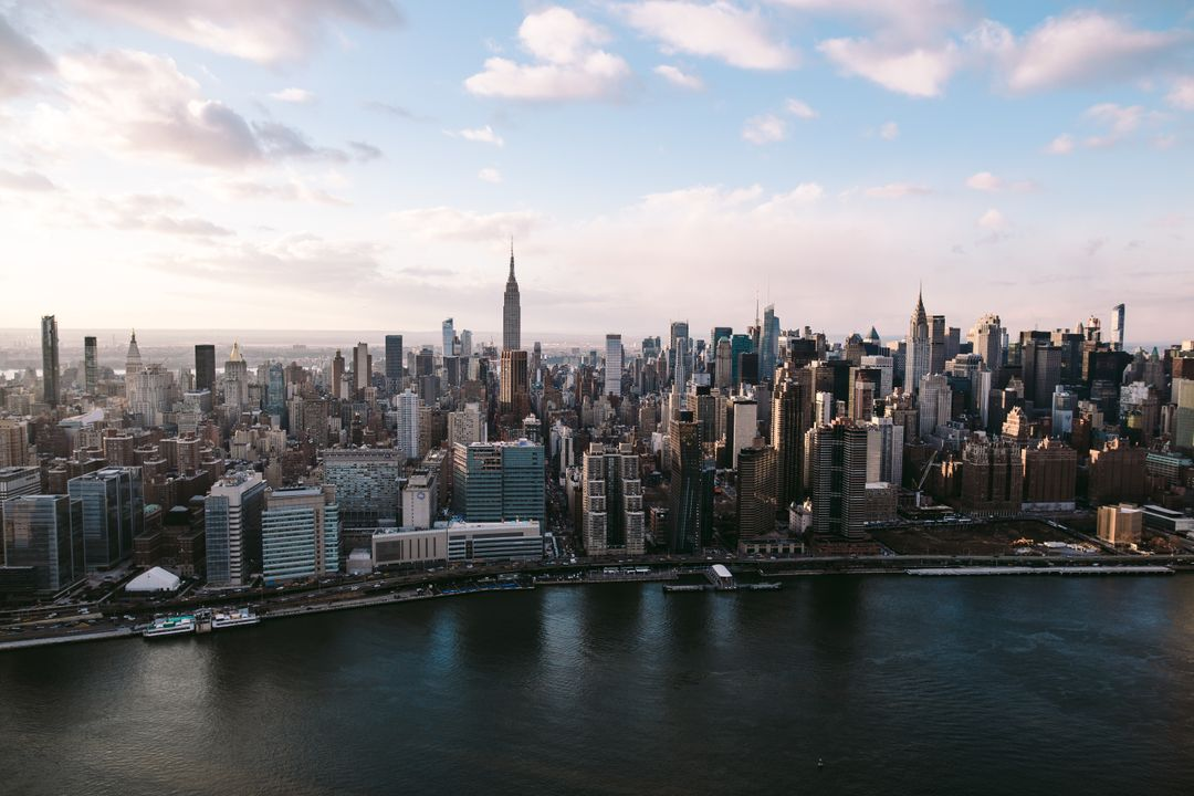 Manhattan City Skyline