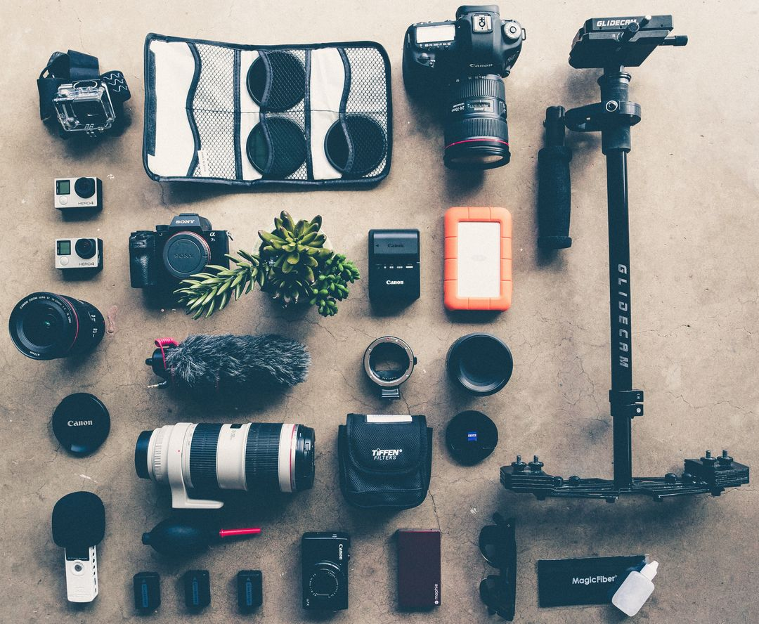 Photographer Accessories Free Photo