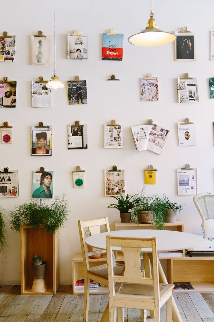 Image of Images Hung up on a Wall