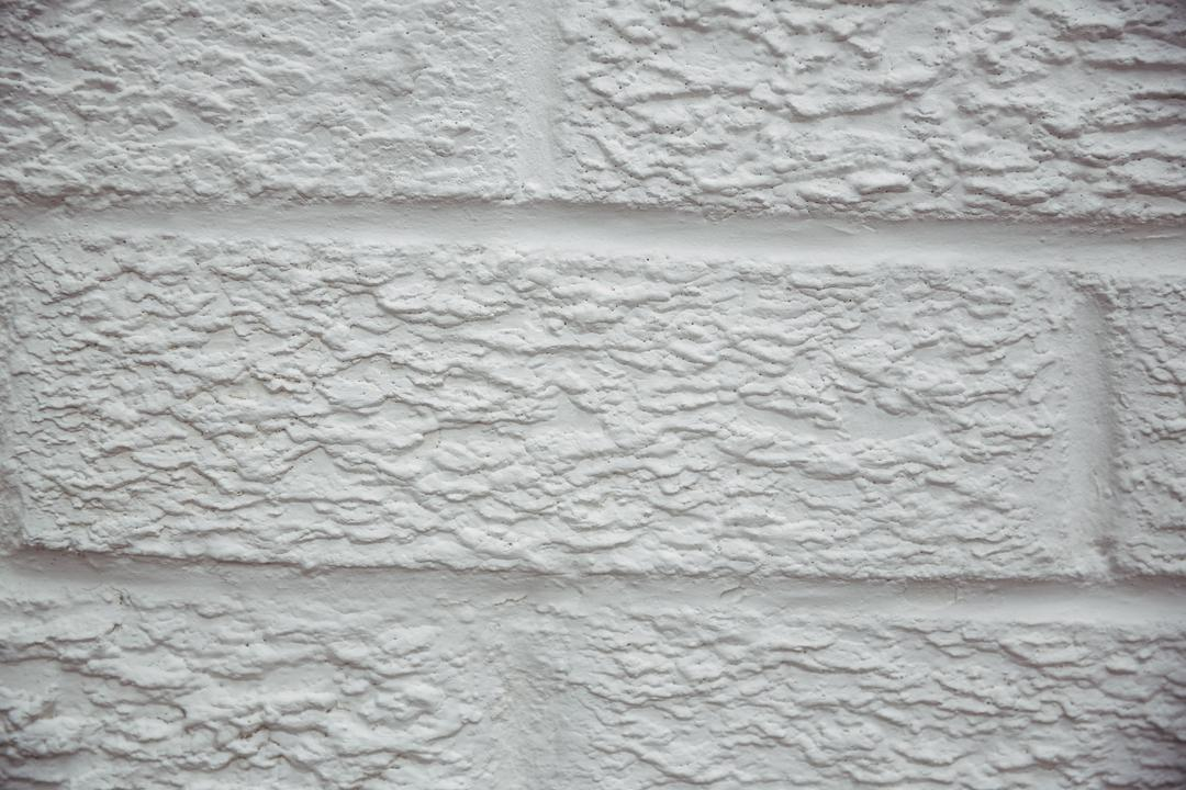 White painted stone wall background, full frame