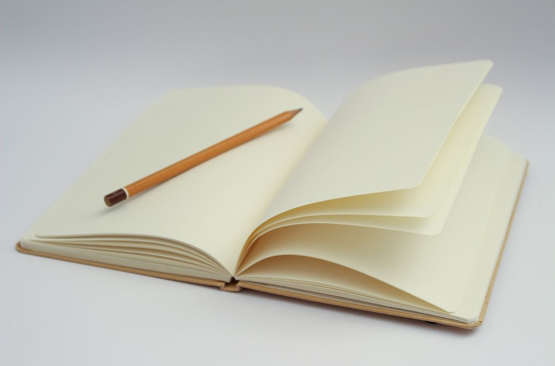 Beginning blank page book ideas