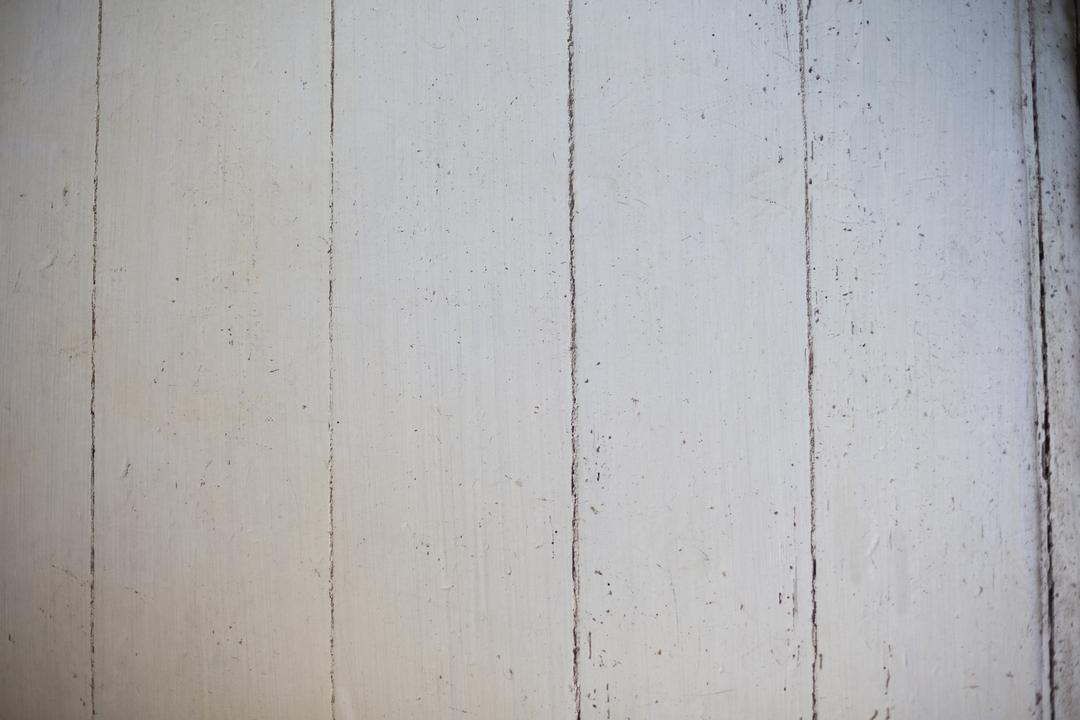 Close-up of white wooden wall