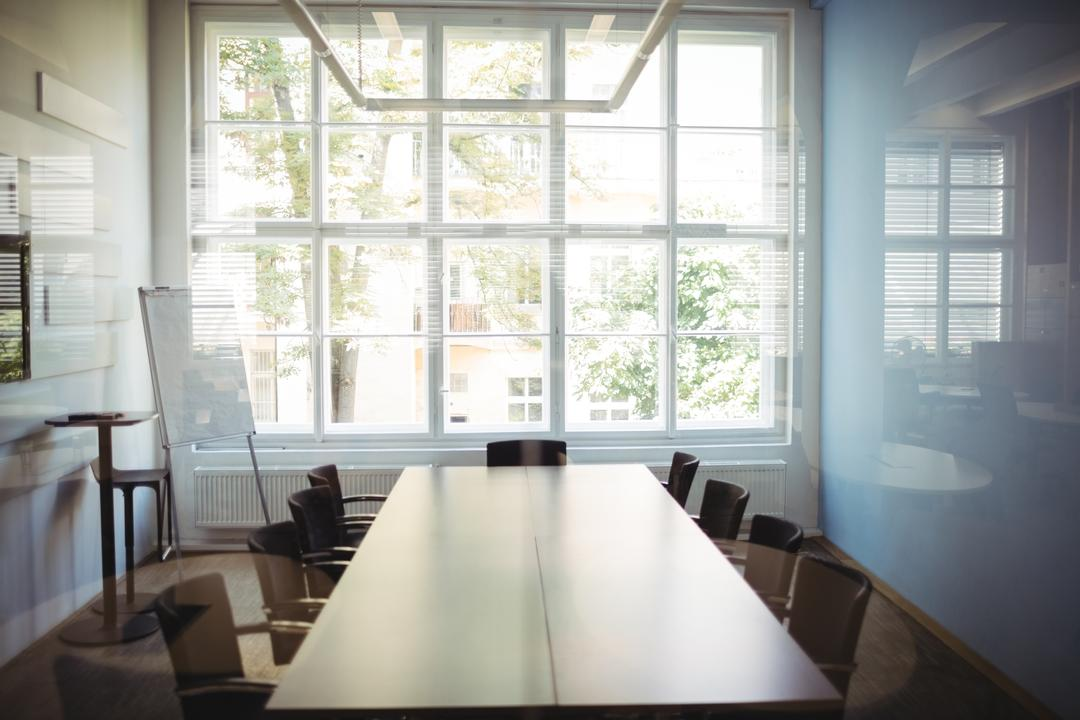 View of empty conference room at office Free Stock Images from PikWizard