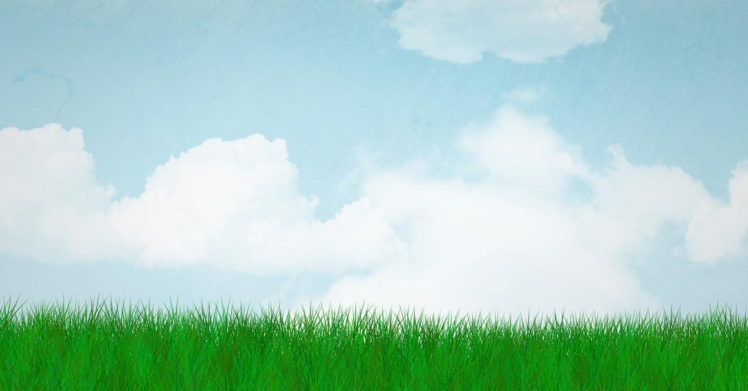 Digital composite of composite image of grass and sky Free Stock Images from PikWizard
