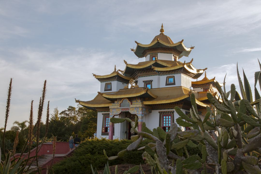 Buddhist temple temple