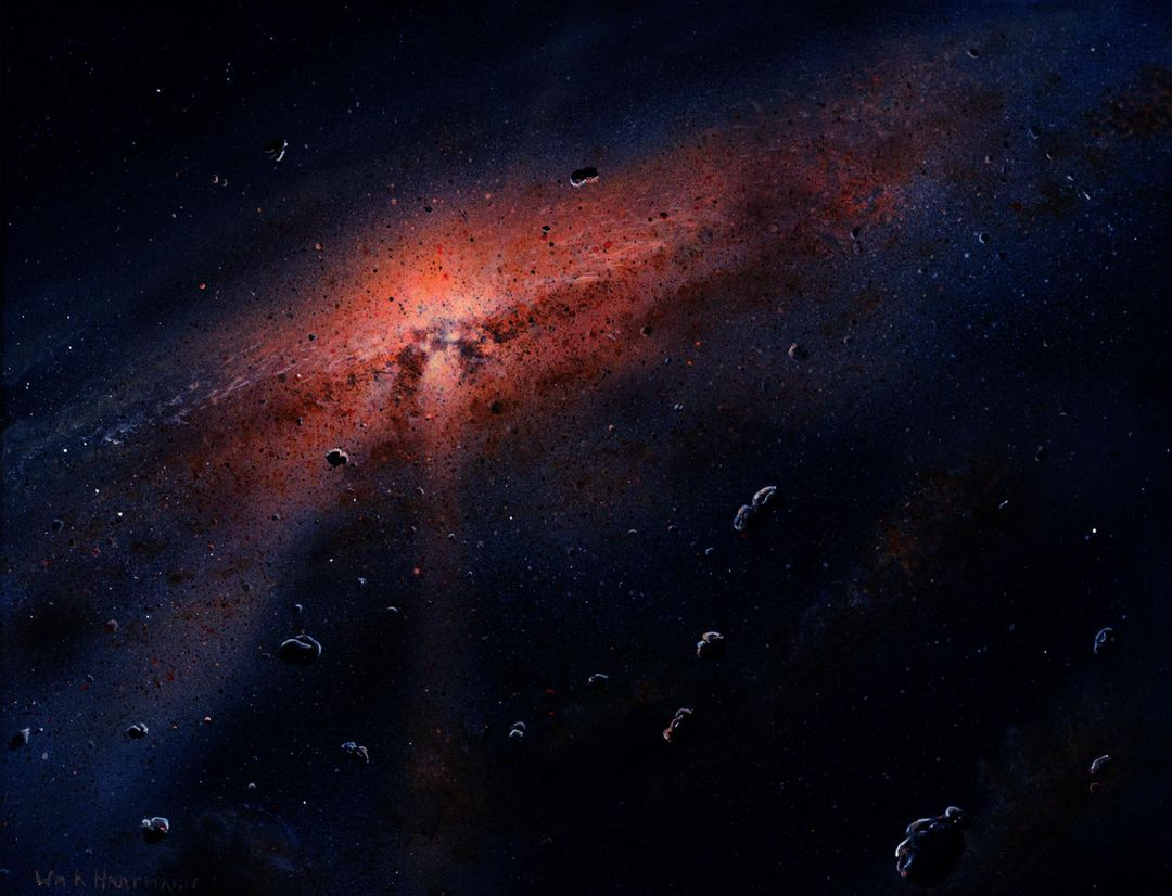 Artist rendition, part of the Dawn Mission Art series.  http://photojournal.jpl.nasa.gov/catalog/PIA19377