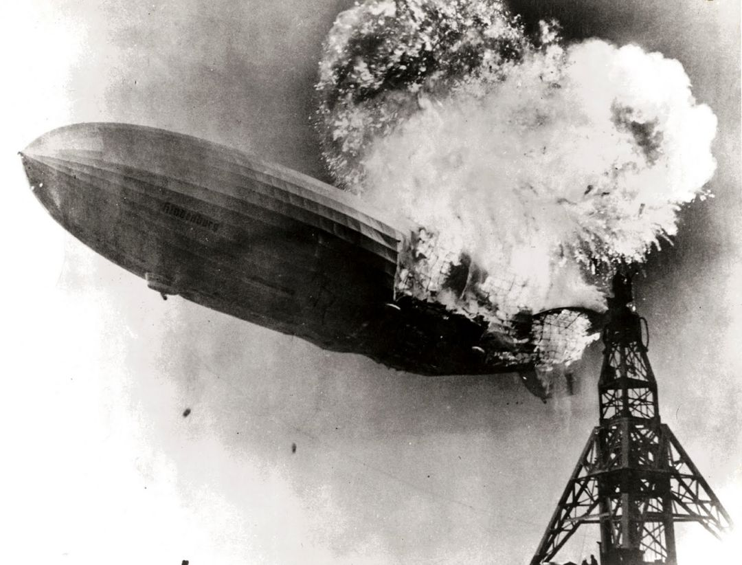 1937 air travel airship catastrophe