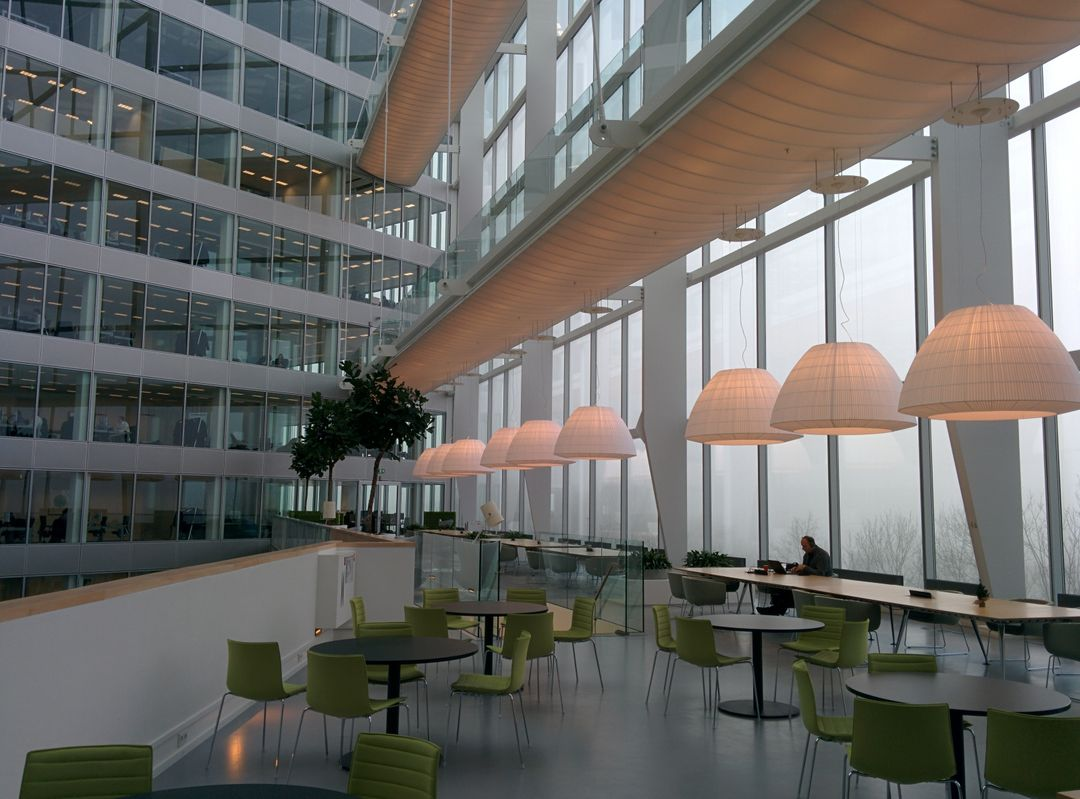 Image of the Inside of a Business Building