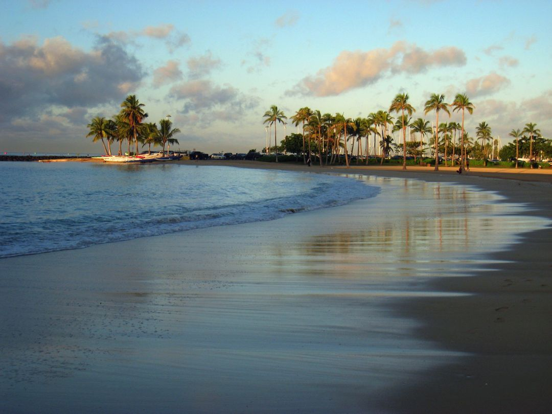 Image of a Beach in Hawaii