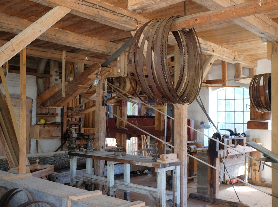 Factory Plant Lumbermill