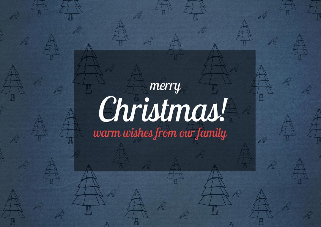 Digitally generated christmas greeting card with wishes Free Stock Images from PikWizard