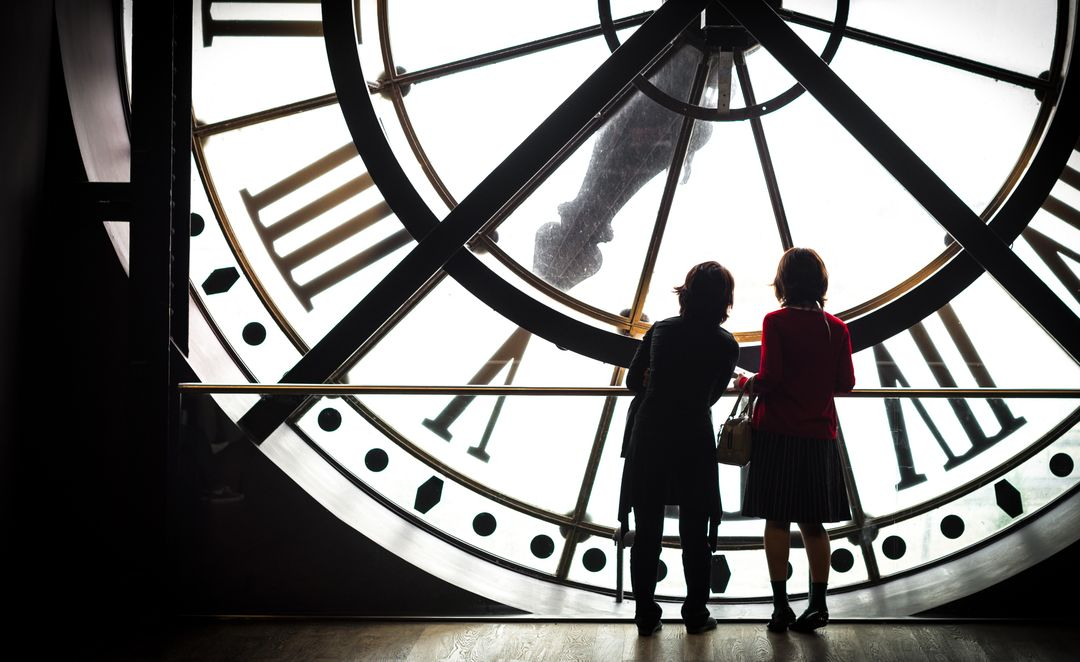 Clock museum orsay paris