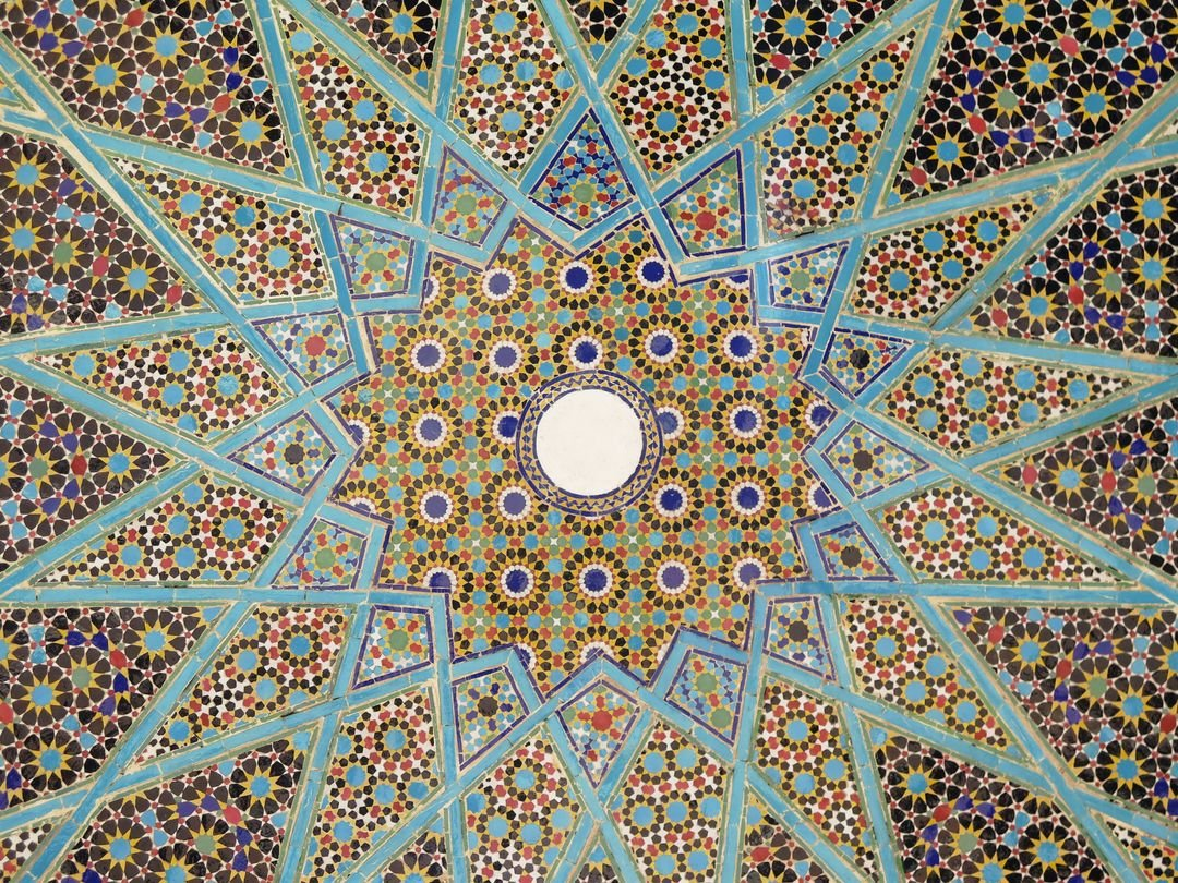Pattern Tile Arabesque