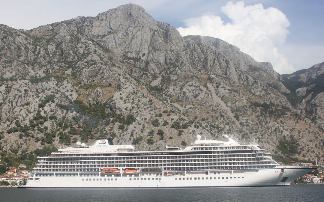Adriatic sea cruiser kotor bay ship