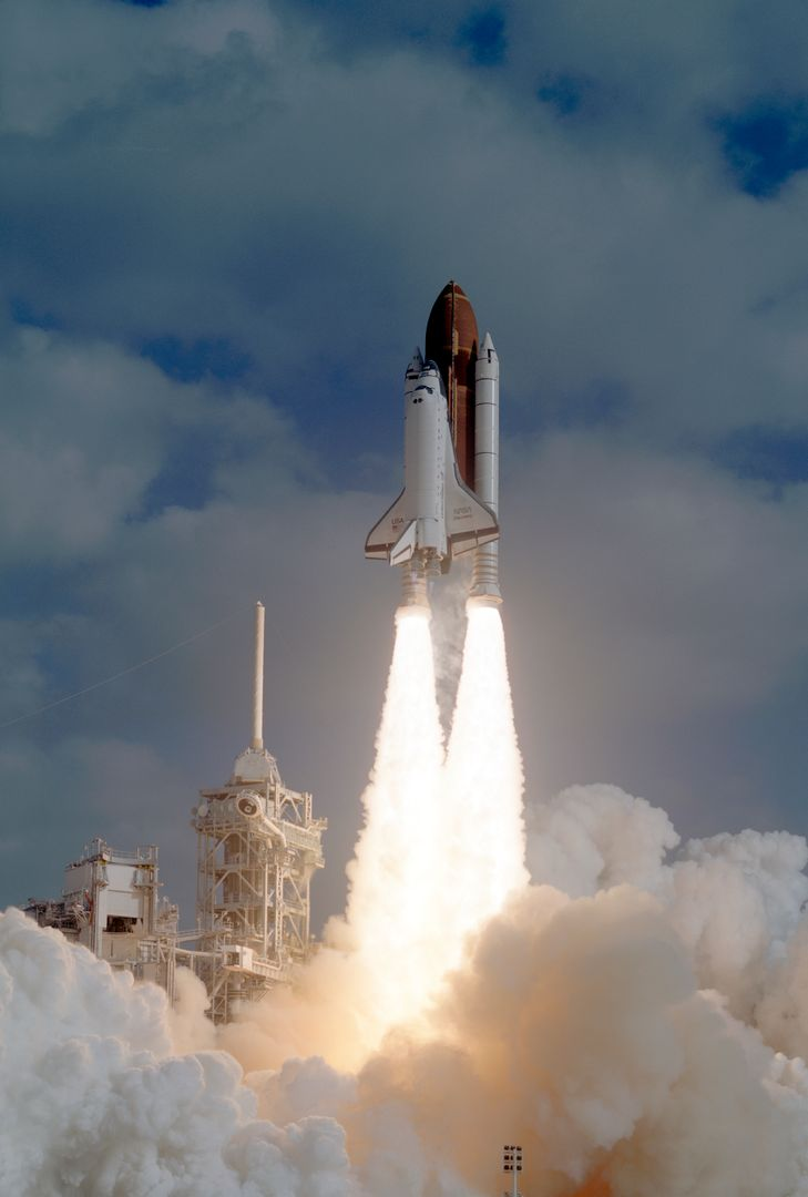 The STS-31 crew launched aboard the Space Shuttle Discovery on April 24, 1990 at 8:33:51am (EDT). Included in the crew of five were Loren J. Shriver, commander; Charles F. Bolden, pilot; and Steven A. Hawley, Bruce McCandless, and Kathryn D. Sullivan, all mission specialists. The primary goal of the mission was the deployment of the Hubble Space Telescope (HST) which was a Marshall Space Flight Center (MSFC) managed program.