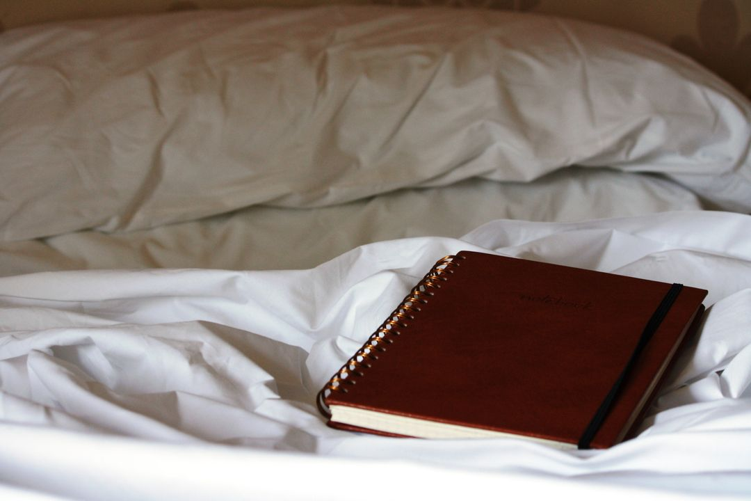 Bed daily notebook reflection