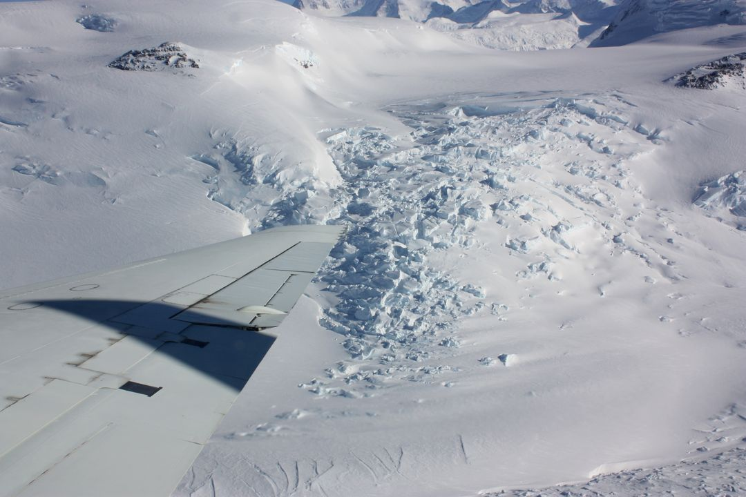 "An area of broken glacier ice seen from the IceBridge DC-8 on Oct. 22, 2012. Credit: NASA / George Hale  NASA's Operation IceBridge is an airborne science mission to study Earth's polar ice. For more information about IceBridge, visit: <a href=""http://www.nasa.gov/icebridge"" rel=""nofollow"">www.nasa.gov/icebridge</a>  <b><a href=""http://www.nasa.gov/audience/formedia/features/MP_Photo_Guidelines.html"" rel=""nofollow"">NASA image use policy.</a></b>  <b><a href=""http://www.nasa.gov/centers/goddard/home/index.html"" rel=""nofollow"">NASA Goddard Space Flight Center</a></b> enables NASA's mission through four scientific endeavors: Earth Science, Heliophysics, Solar System Exploration, and Astrophysics. Goddard plays a leading role in NASA's accomplishments by contributing compelling scientific knowledge to advance the Agency's mission.  <b>Follow us on <a href=""http://twitter.com/NASA_GoddardPix"" rel=""nofollow"">Twitter</a></b>  <b>Like us on <a href=""http://www.facebook.com/pages/Greenbelt-MD/NASA-Goddard/395013845897?ref=tsd"" rel=""nofollow"">Facebook</a></b>  <b>Find us on <a href=""http://instagrid.me/nasagoddard/?vm=grid"" rel=""nofollow"">Instagram</a></b>"