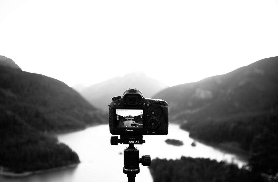 Camera canon tripod mountains Free Stock Images from PikWizard