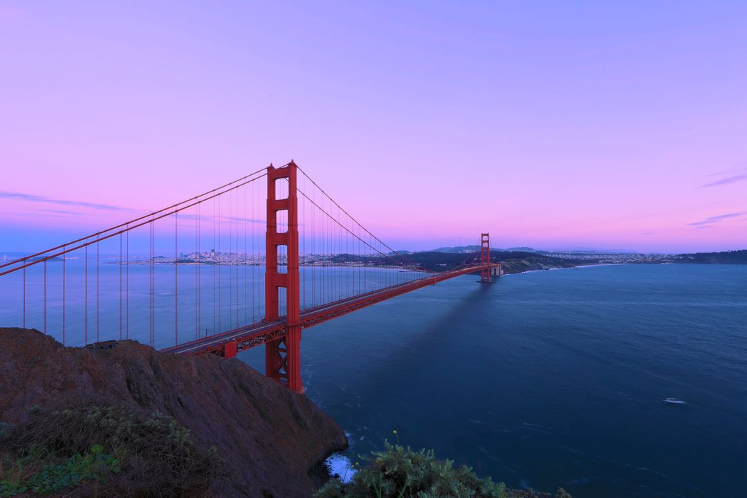 Golden gate bridge california landmark san francisco