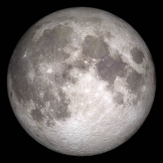 "Current moon as viewed on Wednesday, June 15, 2011, 19:00 UT (Phase 100%)  This marks the first time that accurate shadows at this level of detail are possible in such a computer simulation. The shadows are based on the global elevation map being developed from measurements by the Lunar Orbiter Laser Altimeter (LOLA) aboard the Lunar Reconnaissance Orbiter (LRO). LOLA has already taken more than 10 times as many elevation measurements as all previous missions combined.  The Moon always keeps the same face to us, but not exactly the same face. Because of the tilt and shape of its orbit, we see the Moon from slightly different angles over the course of a month. When a month is compressed into 12 seconds, as it is in this animation, our changing view of the Moon makes it look like it's wobbling. This wobble is called libration.  The word comes from the Latin for &quot;balance scale&quot; (as does the name of the zodiac constellation Libra) and refers to the way such a scale tips up and down on alternating sides. The sub-Earth point gives the amount of libration in longitude and latitude. The sub-Earth point is also the apparent center of the Moon's disk and the location on the Moon where the Earth is directly overhead.  The Moon is subject to other motions as well. It appears to roll back and forth around the sub-Earth point. The roll angle is given by the position angle of the axis, which is the angle of the Moon's north pole relative to celestial north. The Moon also approaches and recedes from us, appearing to grow and shrink. The two extremes, called perigee (near) and apogee (far), differ by more than 10%.  The most noticed monthly variation in the Moon's appearance is the cycle of phases, caused by the changing angle of the Sun as the Moon orbits the Earth. The cycle begins with the waxing (growing) crescent Moon visible in the west just after sunset. By first quarter, the Moon is high in the sky at sunset and sets around midnight. The full Moon rises at sunset and is high in the sky at midnight. The third quarter Moon is often surprisingly conspicuous in the daylit western sky long after sunrise.  Celestial north is up in these images, corresponding to the view from the northern hemisphere. The descriptions of the print resolution stills also assume a northern hemisphere orientation. To adjust for southern hemisphere views, rotate the images 180 degrees, and substitute &quot;north&quot; for &quot;south&quot; in the descriptions.  Credit: <a href=""http://svs.gsfc.nasa.gov/index.html"" rel=""nofollow"">NASA/Goddard Space Flight Center Scientific Visualization Studio</a>  <b><a href=""http://www.nasa.gov/centers/goddard/home/index.html"" rel=""nofollow"">NASA Goddard Space Flight Center</a></b> enables NASA's mission through four scientific endeavors: Earth Science, Heliophysics, Solar System Exploration, and Astrophysics. Goddard plays a leading role in NASA's accomplishments by contributing compelling scientific knowledge to advance the Agency's mission.  <b>Follow us on <a href=""http://twitter.com/NASA_GoddardPix"" rel=""nofollow"">Twitter</a></b>  <b>Join us on <a href=""http://www.facebook.com/pages/Greenbelt-MD/NASA-Goddard/395013845897?ref=tsd"" rel=""nofollow"">Facebook</a></b>  <b>Find us on <a href=""http://web.stagram.com/n/nasagoddard/?vm=grid"" rel=""nofollow"">Instagram</a></b>"