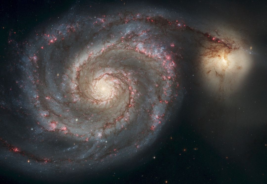 Low Angle View of Spiral Night