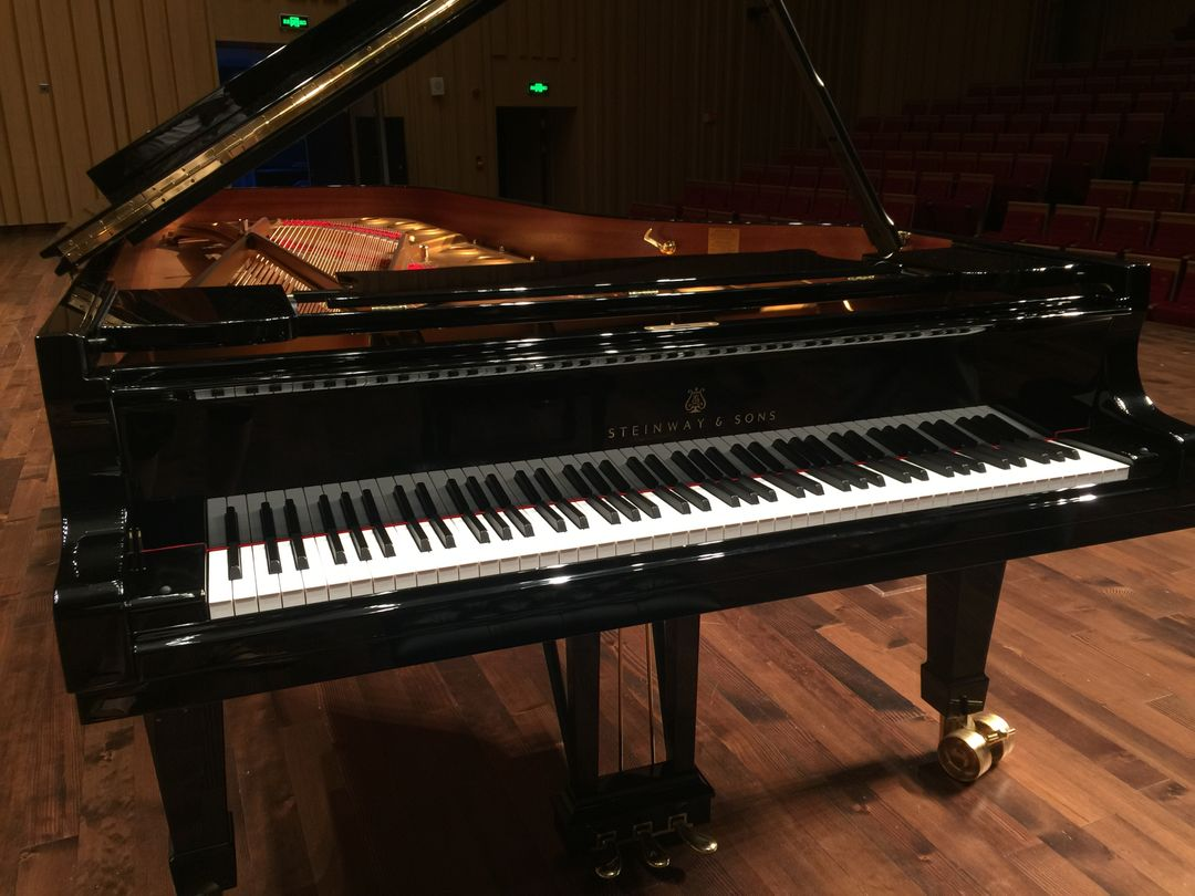Changsha concert hall stage steinway piano