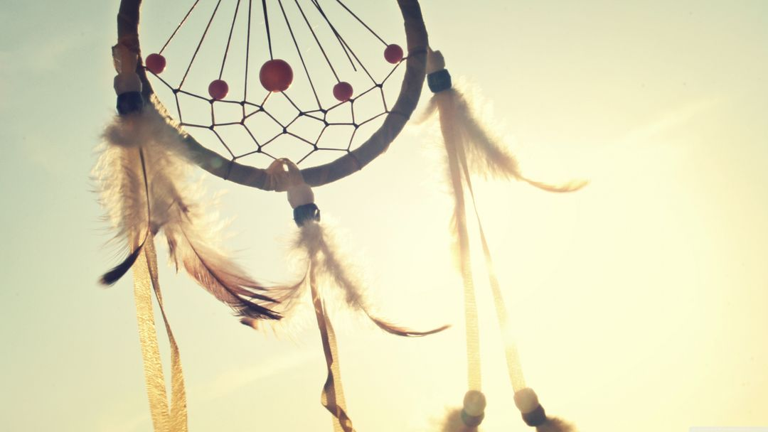 Dreamcatcher sunshine sky