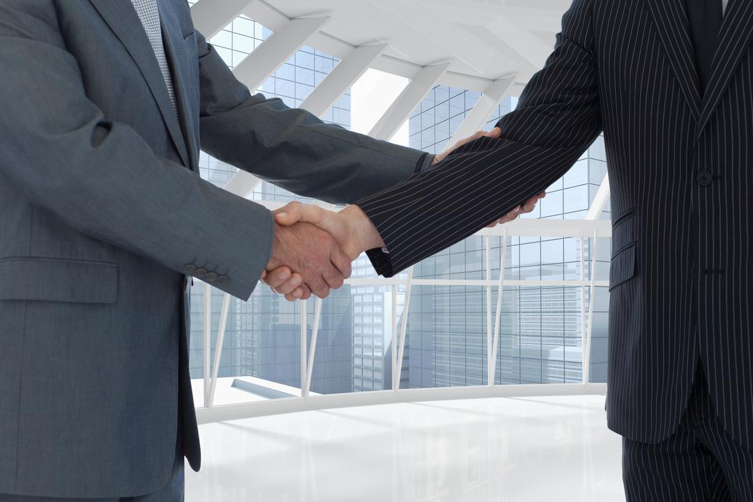 Composite of business people shaking hands Free Stock Images from PikWizard