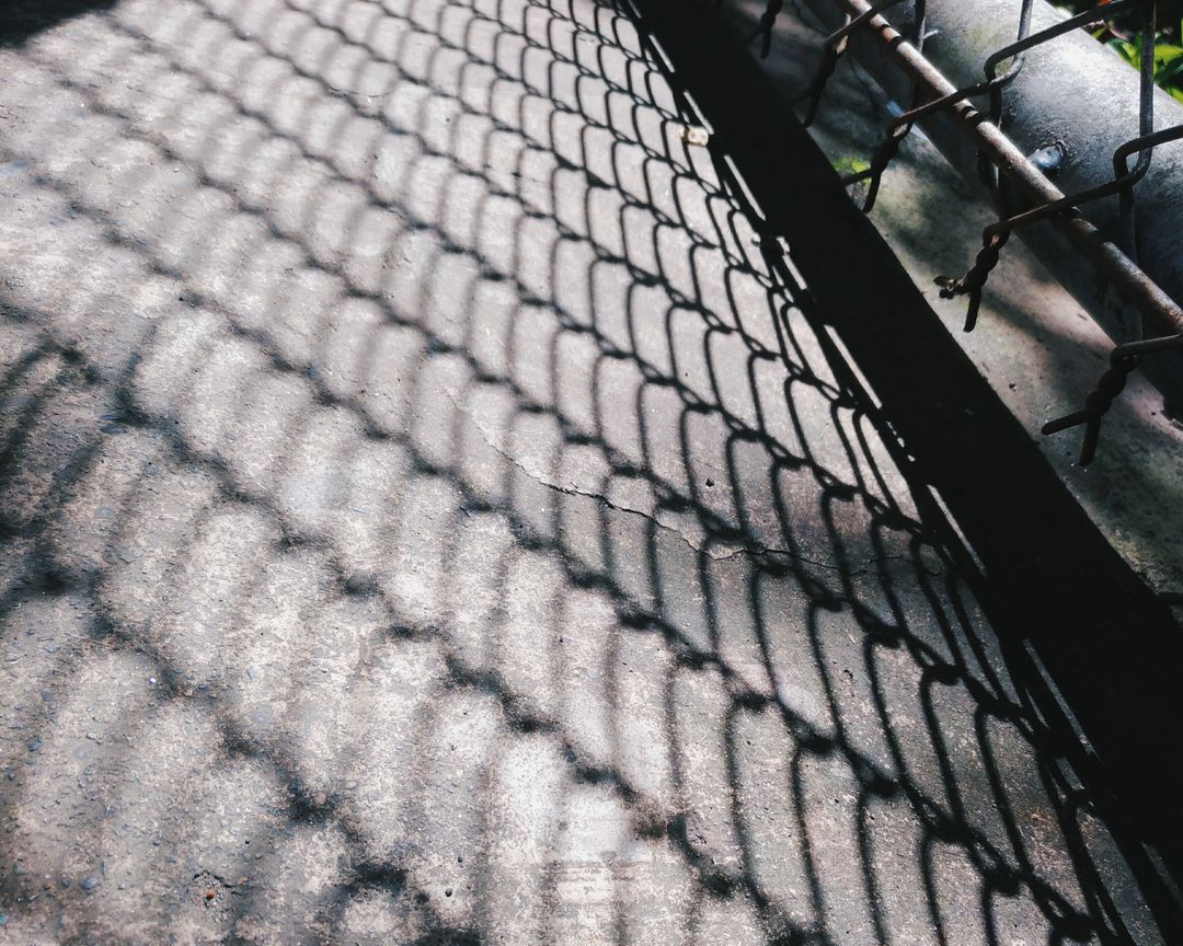 Fence Chainlink fence Roof