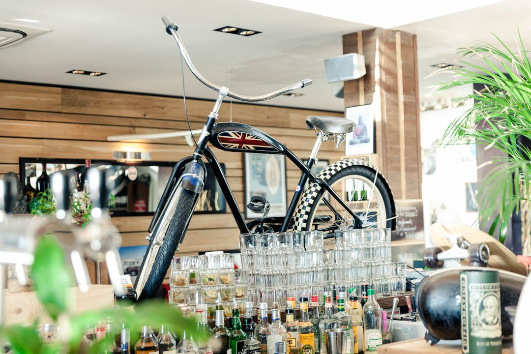 Bike on the bar