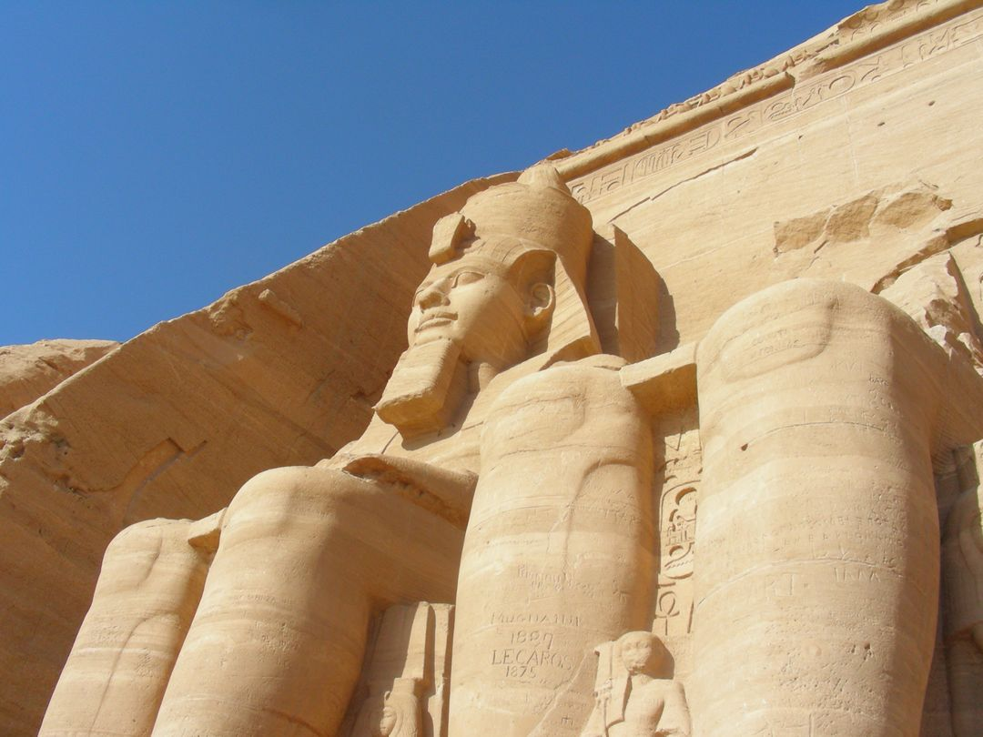 Abu simbel egypt old pharaohs