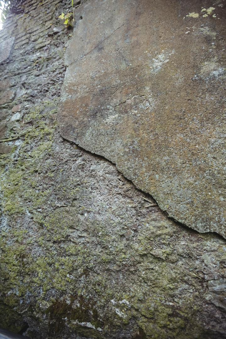 Close-up of weathered stone wall, backgrounds Free Stock Images from PikWizard