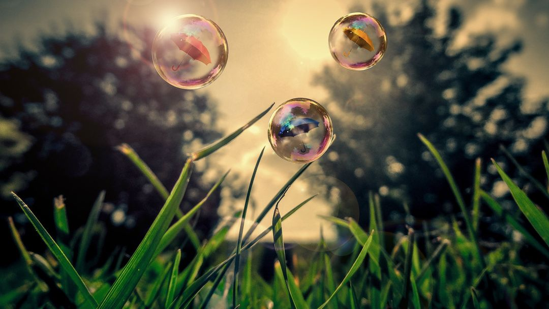 Air artistic conception beautiful bubble