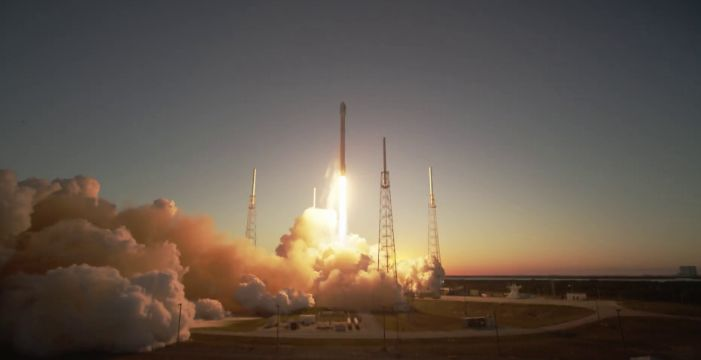 "NOAA's Deep Space Climate Observatory (DSCOVR) lifted off from Cape Canaveral, Florida, at 6:03 p.m. EST on its way to an orbit one million miles from Earth. DSCOVR will give NOAA's Space Weather Prediction Center (SWPC) forecasters more reliable measurements of solar wind conditions, improving their ability to monitor potentially harmful solar activity.    Credit: SpaceX   <b><a href=""http://www.nasa.gov/audience/formedia/features/MP_Photo_Guidelines.html"" rel=""nofollow"">NASA image use policy.</a></b>  <b><a href=""http://www.nasa.gov/centers/goddard/home/index.html"" rel=""nofollow"">NASA Goddard Space Flight Center</a></b> enables NASA's mission through four scientific endeavors: Earth Science, Heliophysics, Solar System Exploration, and Astrophysics. Goddard plays a leading role in NASA's accomplishments by contributing compelling scientific knowledge to advance the Agency's mission. <b>Follow us on <a href=""http://twitter.com/NASAGoddardPix"" rel=""nofollow"">Twitter</a></b> <b>Like us on <a href=""http://www.facebook.com/pages/Greenbelt-MD/NASA-Goddard/395013845897?ref=tsd"" rel=""nofollow"">Facebook</a></b> <b>Find us on <a href=""http://instagram.com/nasagoddard?vm=grid"" rel=""nofollow"">Instagram</a></b>"