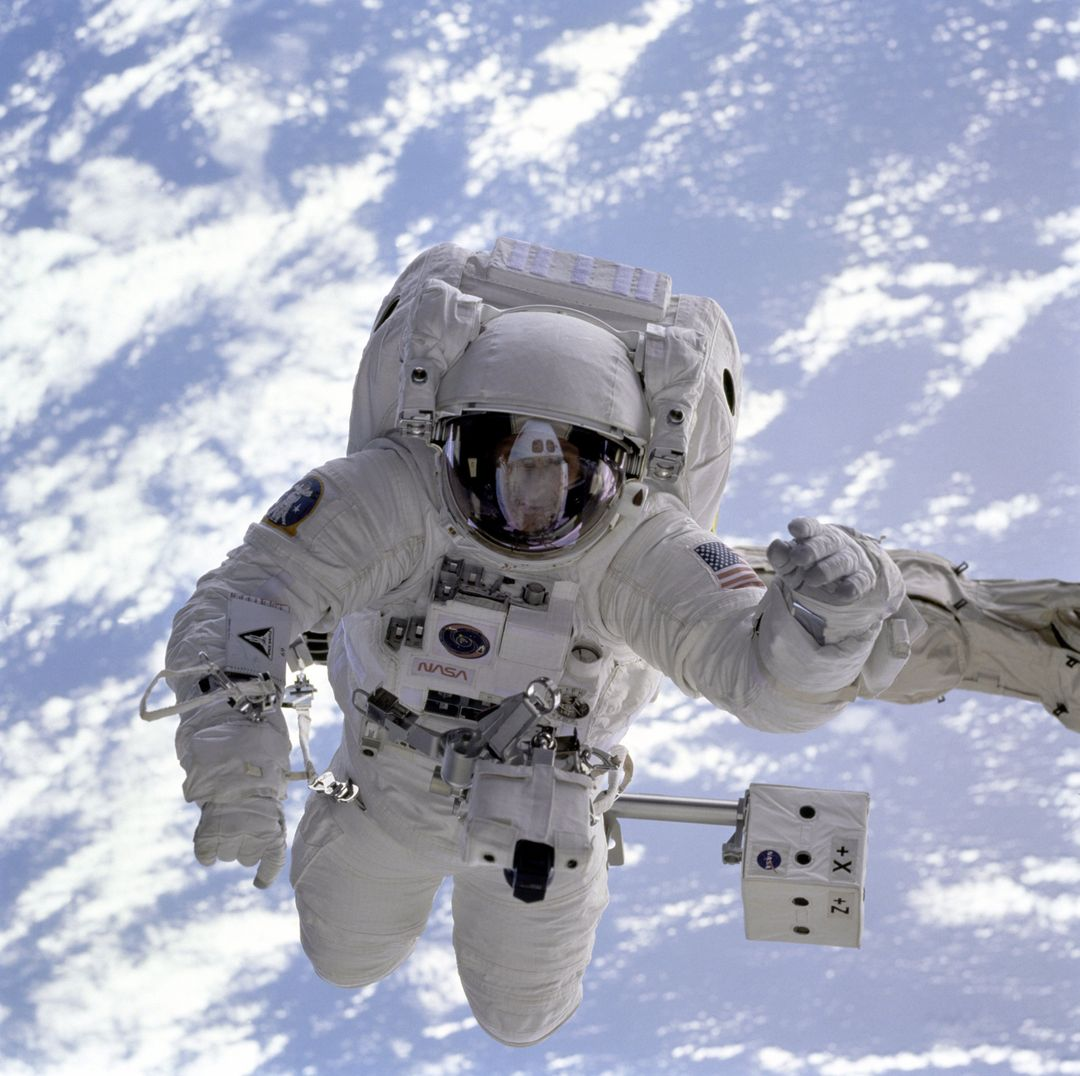 Astronaut Sky Orbit Earth Free Photo