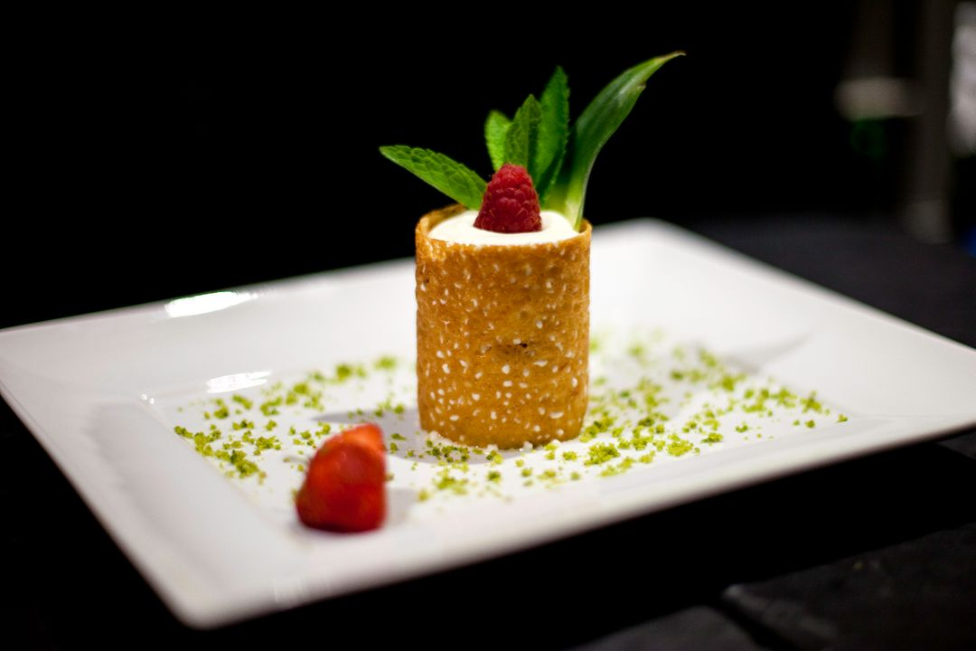 Image of a Dessert with Berries