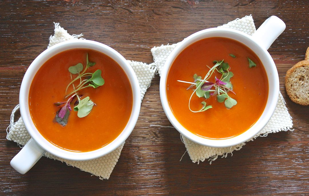 How To Start A Food Blog - soup bowls
